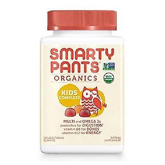 SmartyPants Organic Kids Complete Multivitamins, 120 Gummies
