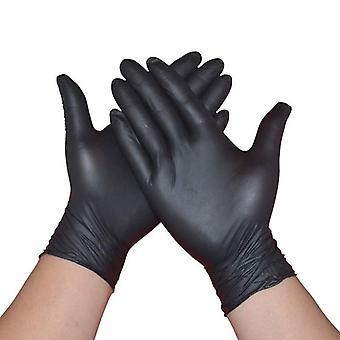 10buc/lot Mănuși negre nitril de unică folosință