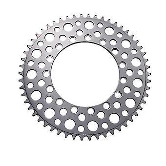 Składany rower 54T Chainring Road Bike Ujemne zęby Pojedynczy chainring (Srebrny)
