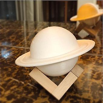 3d Printing Saturn Lamp Usb Night Lamp Rechargeable Girl Heart Gift Starry Sky Planet Moon Lamp