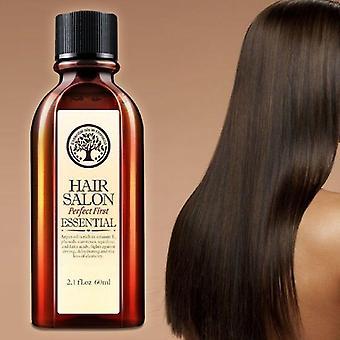 العناية بالشعر وفروة الرأس علاج الزيت الأساسي لترطيب الشعر الناعم