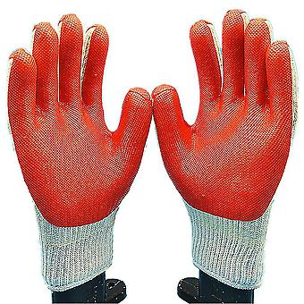 Durable Work Gloves Rubber Wearable Anti Cut Gloves