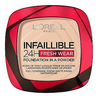 Pulver make-up base ofelbar 24h färskt slitage L'Oreal Make Up 20 (9 g)