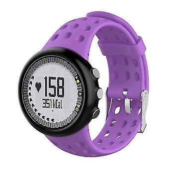 Siliconen Vervanging Heren's horlogebandje voor SUUNTO M1 / M2 / M4 / M5 paars