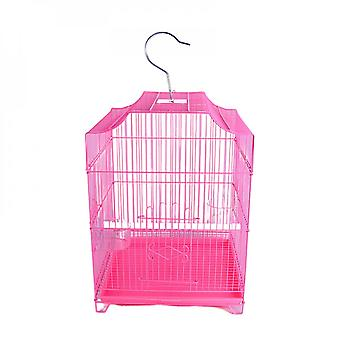 Pet Products Bird Cage Parrot Thrush Bird Cage With Transparent Food Bowl