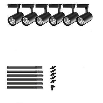Led Track Spotlights. Adjustable Ceiling Rail Lamp