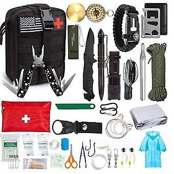 Erste-Hilfe-Set Professionelle Überlebensausrüstung Sos Notfallwerkzeug (Style3)