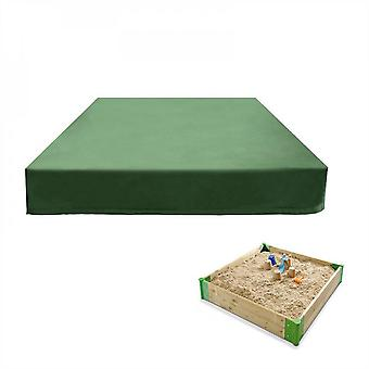 Evago Outdoor Cover Sandbox Cover With Drawstring, Square Dustproof Protection Beach Sandbox Canopy, Waterproof Sandpit Pool Cover