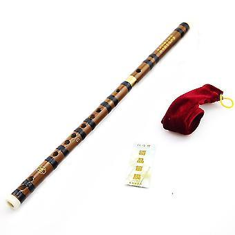 Бамбуковая флейта Новичок Dizi Две съемные части 689 Китайский флейта музыкальный инструмент