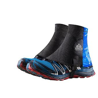 Running trail gaiters protective sandproof shoe covers for triathlon marathon hiking reflective e941