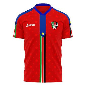 Zuid-Soedan 2021-2022 Away Concept Football Kit (Libero)