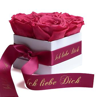 Flowers Box Wei Eternal Roses Wei I Love You Gift