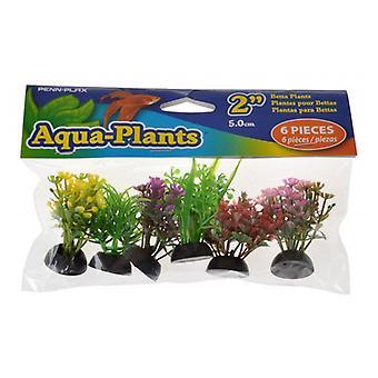Penn Plax Aqua-Plants Betta Växter - Liten - 6 Antal