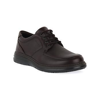 Enval soft belfast nappa leather black shoes