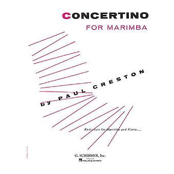 Concertino Marimba And Piano Book Only