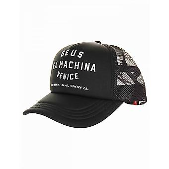Deus Ex Machina Venedig adress Trucker Hat - Svart