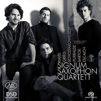 Grieg / Schostakowitsch / Signum Saxophonquartett - Debut [SACD] USA import