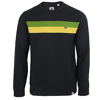 Pretty green men's black tilby sweatshirt