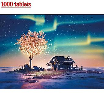 Jigsaw puzzles 1000 piece jigsaw puzzles for adults kids  aurora jigsaw intellectual educational game difficult and