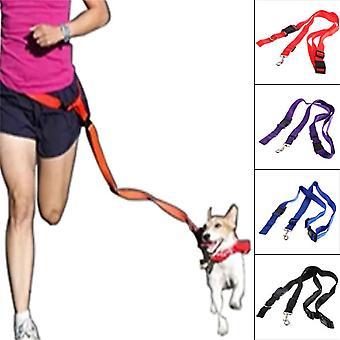 ניילון כלב רצועה חבל אימון להחליק רצועת עופרת מתכווננת צווארון המתיחה