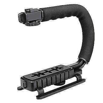 U típusú kézi tartó flash bracket dv kézi mozgásstabilizátor