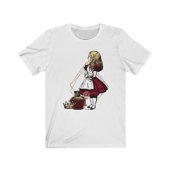 Graphic tee - alice in wonderland gifts #36 red series | gift idea, gifts for women, t shirts for women, custom shirt, graphic tees for women, t-shirt