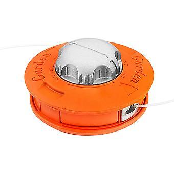Universal  Mower Head; Universal Aluminum Twister Concave-convex For Feeding Line Suitable For Garden Yard Farm M10x1.25lh Orange