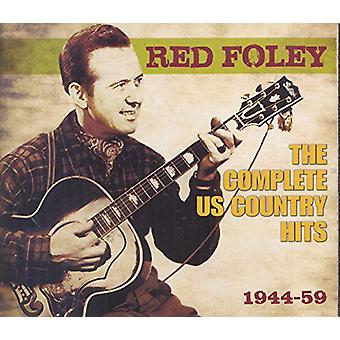 Foley czerwony - czerwony Foley: Kompletny nas Country Hits 1944-59 [CD] USA import