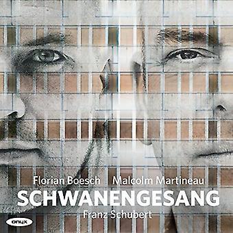 Schubert / Boesch / Martineau - Schwanengesang D957 Wer Sich Der Einsamkeit Ergieb [CD] USA import