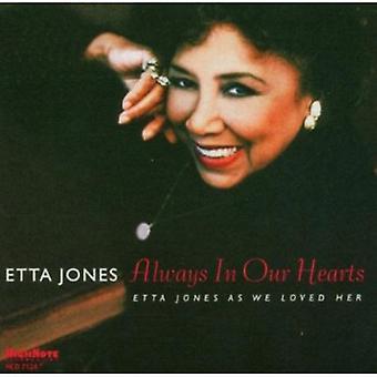 Etta Jones - Always in Our Hearts-Etta Jones as We [CD] USA import