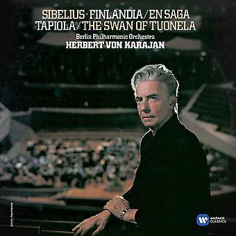 Herbert Von Karajan - Finlandia, Satu, Valse Triste, Tapiola, Le Cygn [CD] USA import