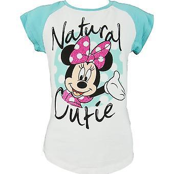Disney Minnie Mouse flickor kortärmad T-shirt