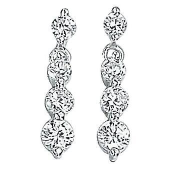 925 Silver Zirconia Earring