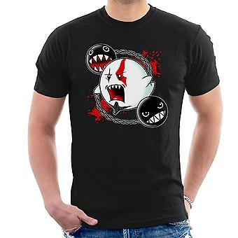 Ghost Of Sparta God Of War Mario Men's T-Shirt