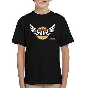 Haynes Brand Wings Premium Grade Motor Oil Kid's T-Shirt