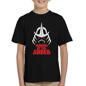 Dawn Of The Shred Shredder TMNT Kid's T-Shirt