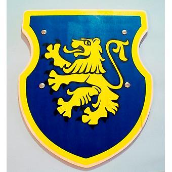 Skjold Knight rustning Edelmann barn kostume blå