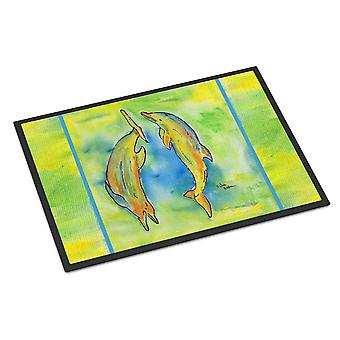 Carolines Treasures  8380-MAT Dolphin  Indoor or Outdoor Mat 18x27 8380 Doormat