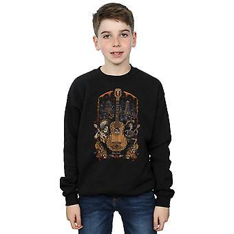 Disney Boys Coco Guitar Poster Sweatshirt