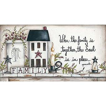 Family Poster Print by Mary Ann June (30 x 16)