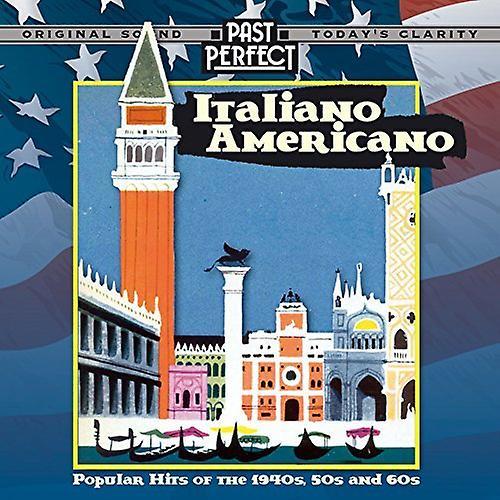 Italiano Americano Popular Hits 40s 50s & 60s Audio CD Various Artists