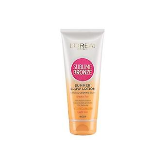 Loreal Sublime Bronze Summer Glow Lotion