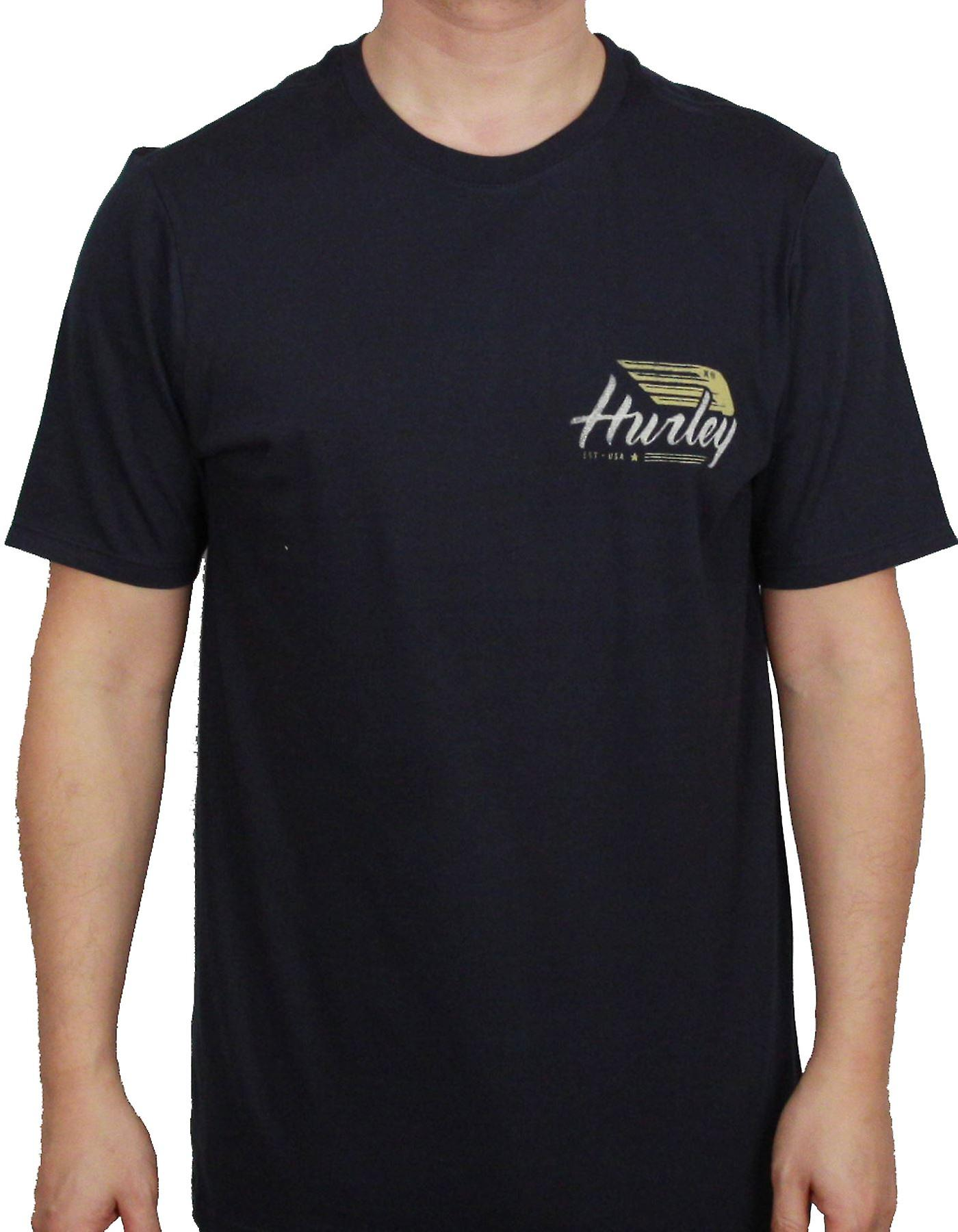Hurley T-Shirt ~ Wings Up navy