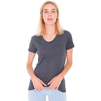 American Apparel donna/Womens Polycotton Short Sleeve t-shirt