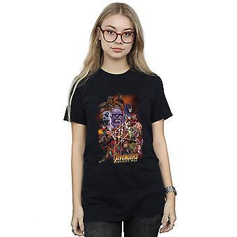 Marvel kvinders Avengers Infinity krigen karakter plakat kæreste Fit T-Shirt