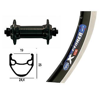 Roue de 26″ pièces vélo Rigida X-Plorer + moyeu standard ALU (QR)