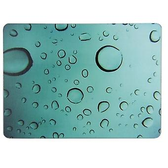 28x38cm Water druppels glas aanrecht Saver Protector hakken snijplank