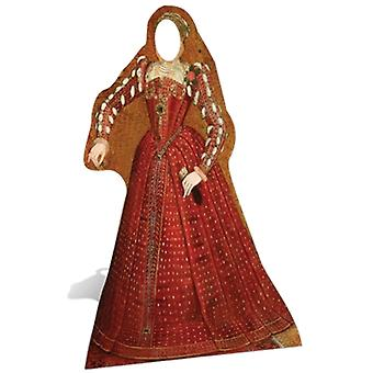 Tudor Woman Stand-in