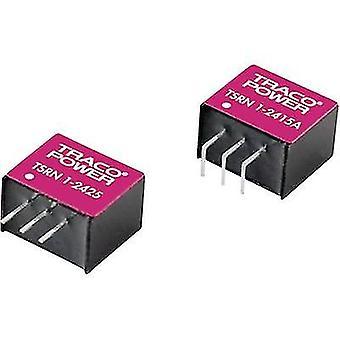 TracoPower TSRN 1-24120 DC/DC convertitore (stampa) 24 V DC 12 V DC 1 A No. uscite: 1 x