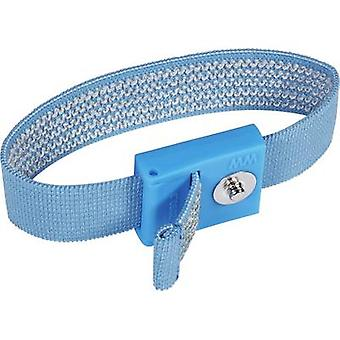 Wolfgang Warmbier 2050.750.3 ESD wrist strap Light blue 3 mm stud and socket